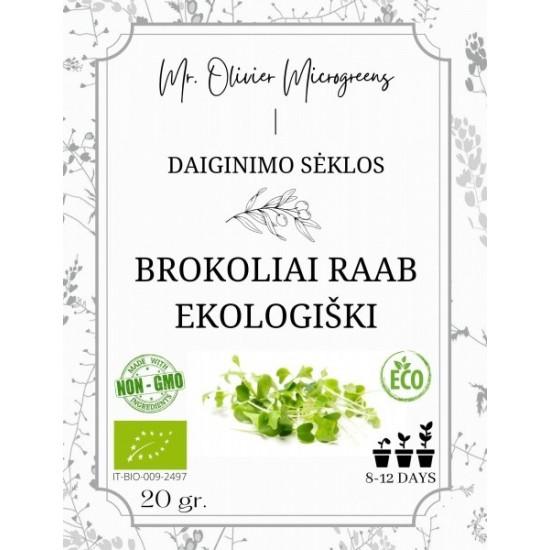 Ekologiškų brokolių sėklos...